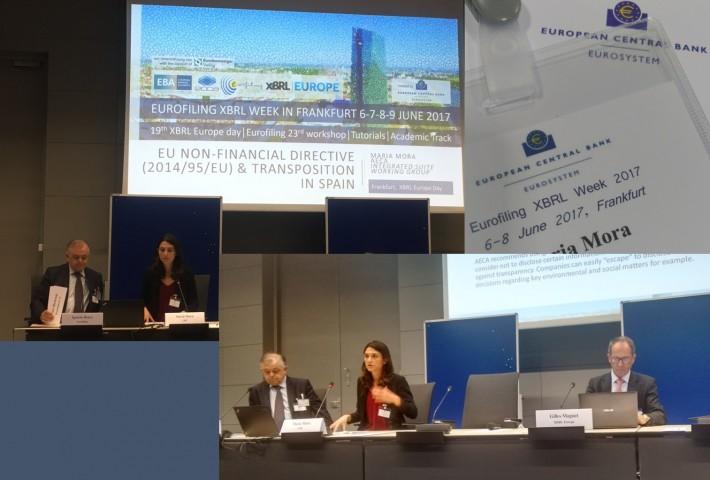 AECA expone sus comentarios sobre la nueva Directiva de Información No Financiera en el Banco Central Europeo