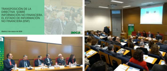 Jornada AECA sobre Información Integrada