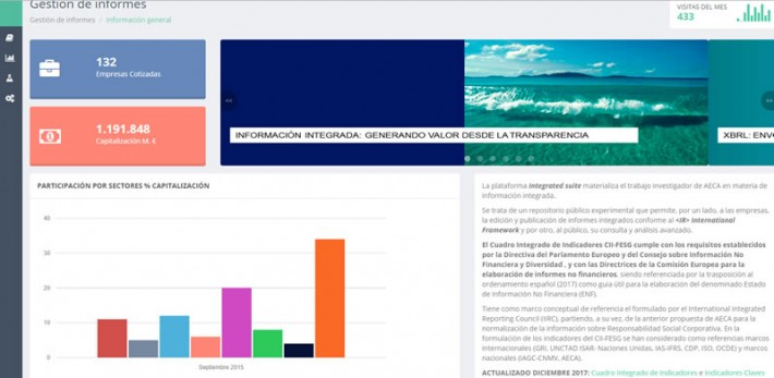 """La plataforma online """"Integrated Suite"""" de AECA, elegida entre las 10 mejores prácticas de transparencia y buen gobierno"""