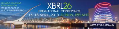 26 Conferencia Internacional de XBRL en Dublin