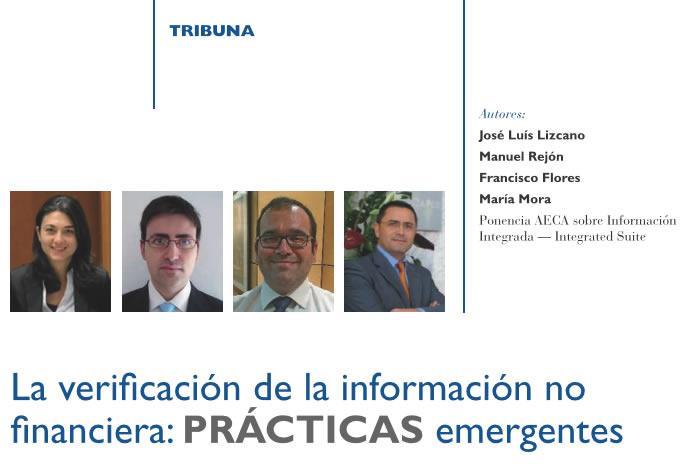 La verificación de la información no financiera: PRÁCTICAS emergentes